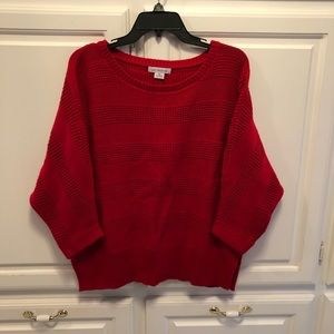 Liz Claiborne red sweater size XL